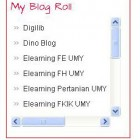 Buat Blogroll Scroll di Blog