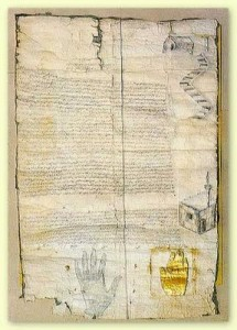 Patent from Prophet Muhammad to the Christians of St. Catherine's Monastery