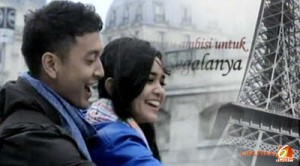 Foto Dimas Anggara Michelle Zudith Love In Paris