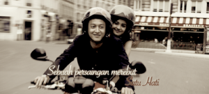 Foto Michelle Zudith Dimas Anggara Love In Paris SCTV