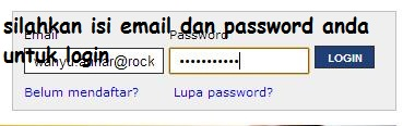 Login Registrasi Online STAN 2013
