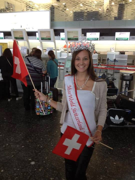 Cindy Williner Miss Switzerland