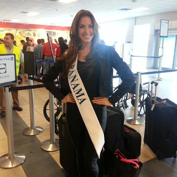 Virginia Hernandez Miss World Panama 2013