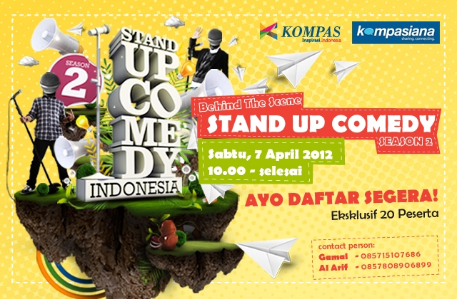 Stand Up Comedy Indonesia ( Kompas TV )