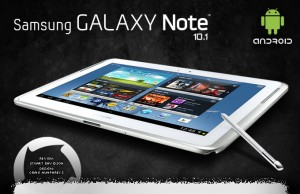 Tablet Android Samsung Galaxy Note 10.1