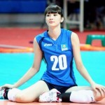 Sabina Altynbekova VolleyBall player